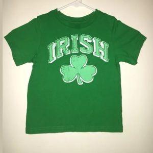 """Toddler """"Irish"""" t shirt sz3T"""
